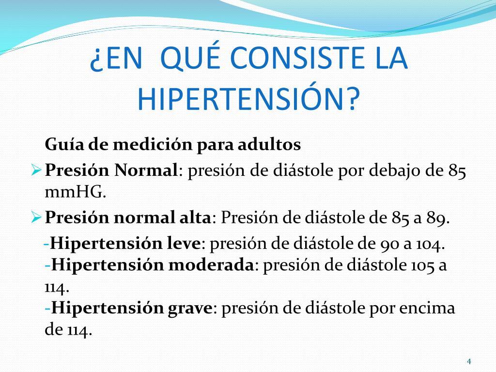 Hipertensión leve, ¿qué es?