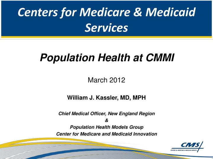 centers for medicare medicaid services n.