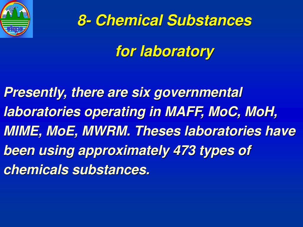 8- Chemical Substances