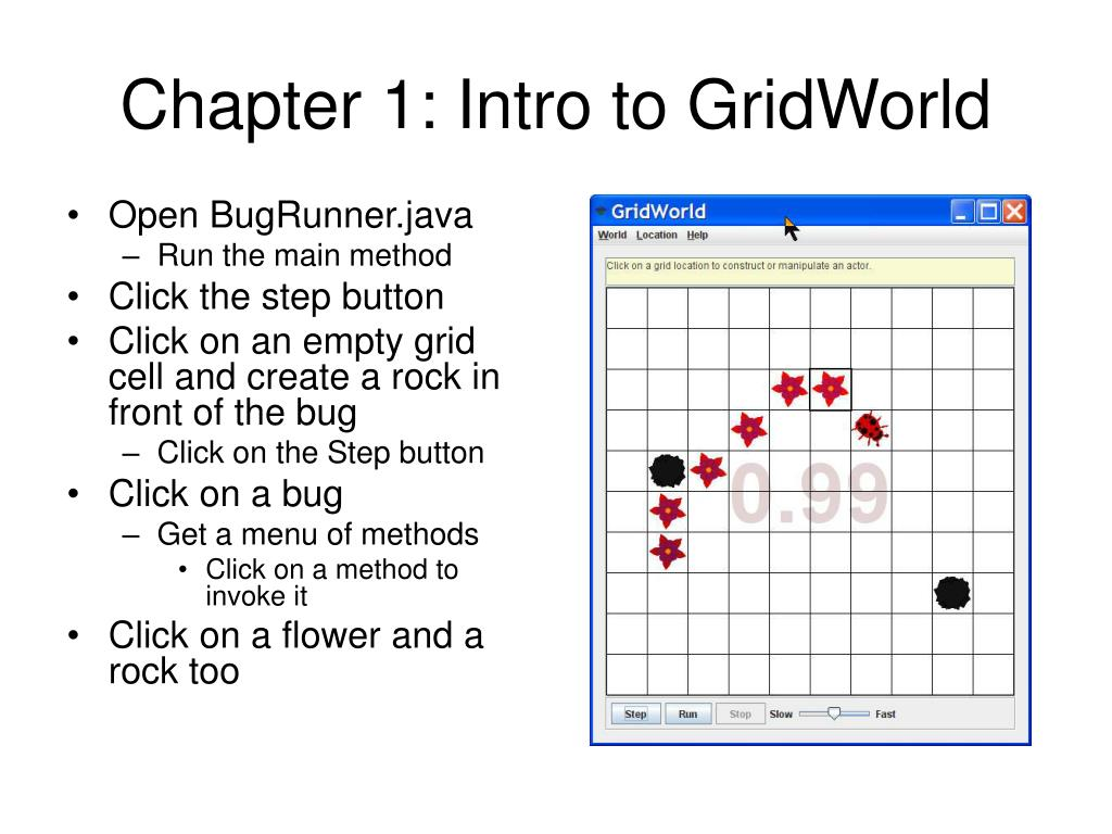 Chapter 1: Intro to GridWorld