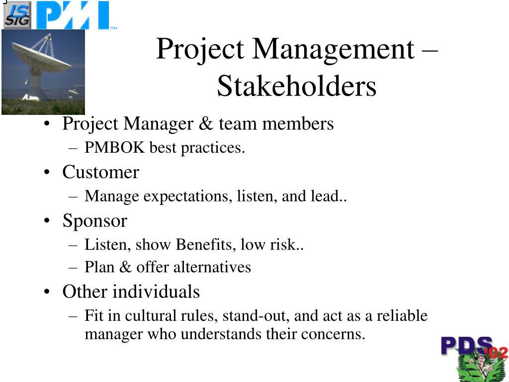 Project Management –