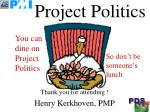 project politics28