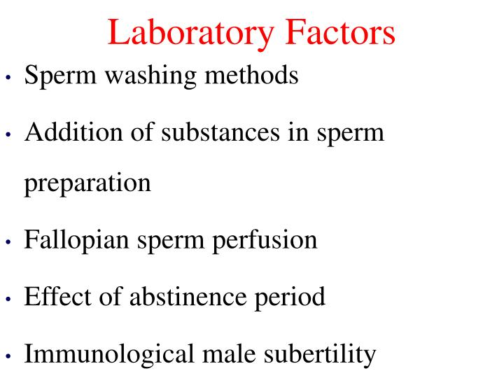 Laboratory Factors