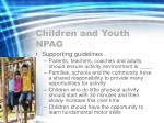children and youth npag
