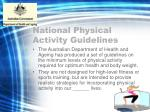 national physical activity guidelines2