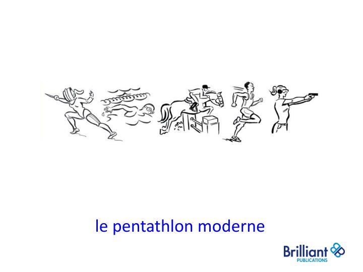 le pentathlon moderne