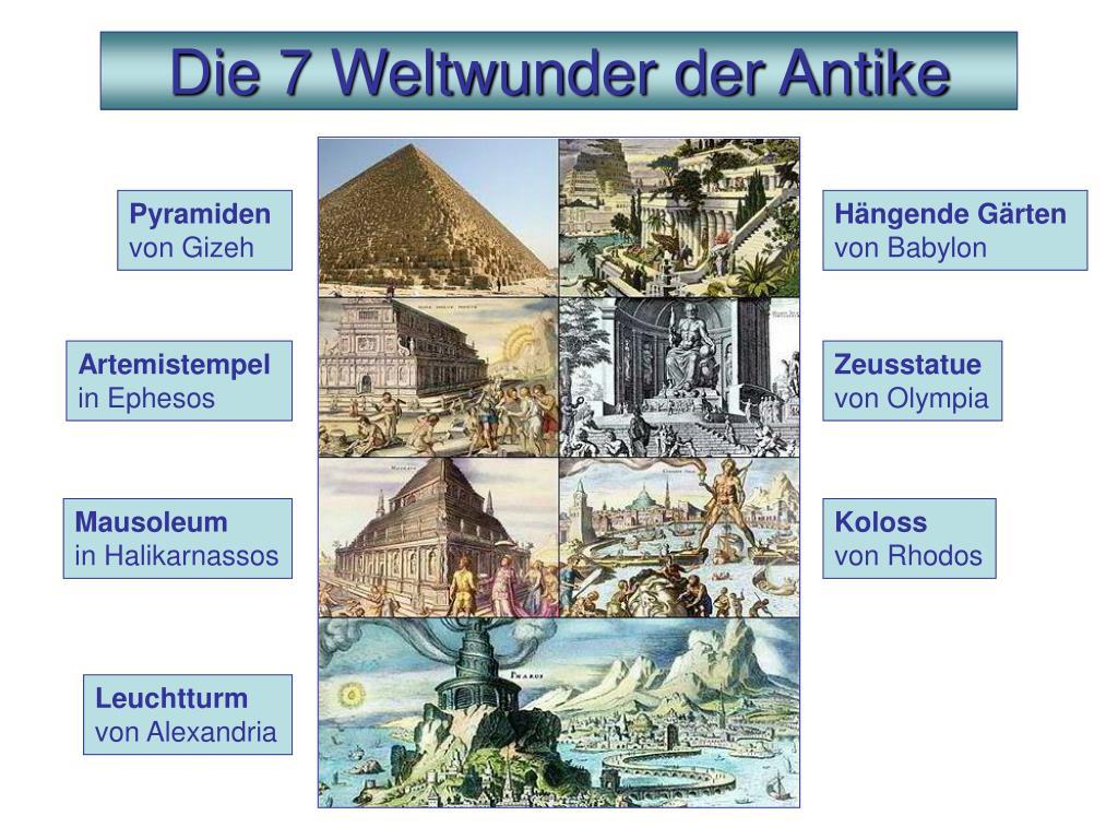 Sieben Antike Weltwunder