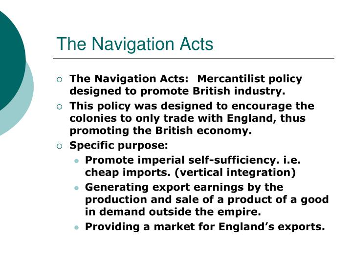 the navigation acts n.