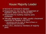 house majority leader
