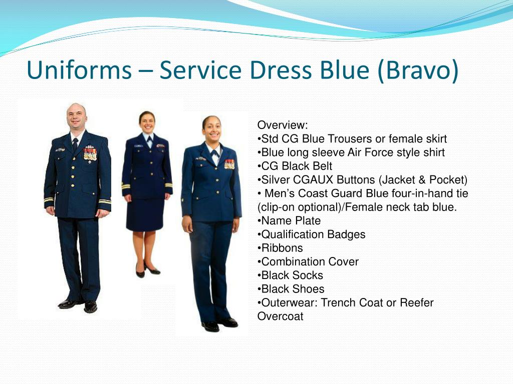 PPT - United States Coast Guard Auxiliary Uniform Overview