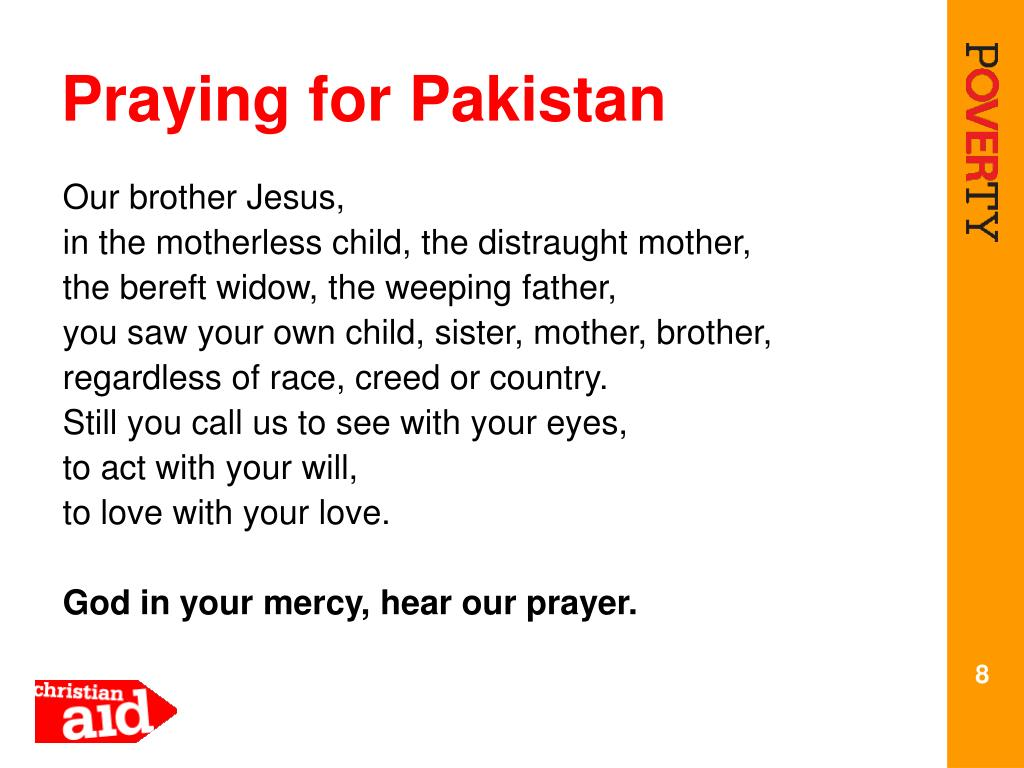 Praying for Pakistan