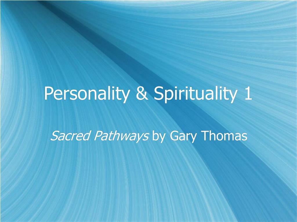 personality spirituality 1