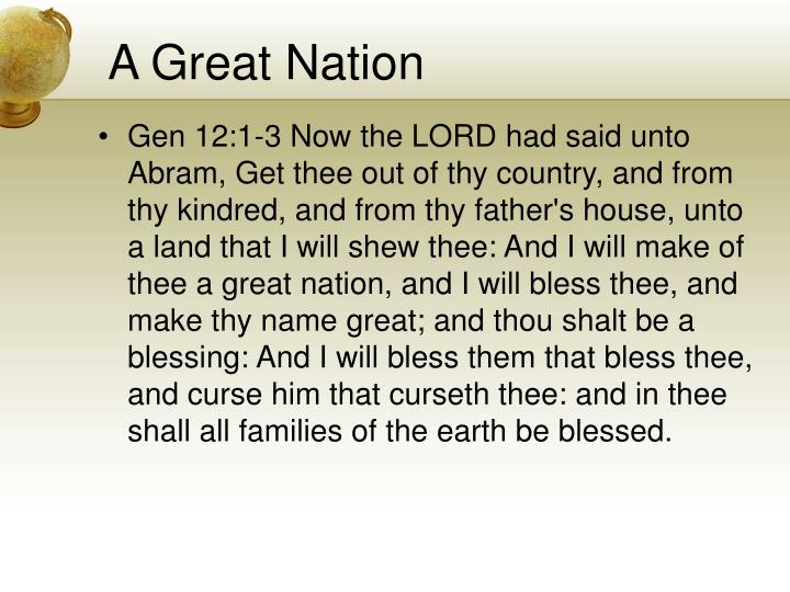 A Great Nation