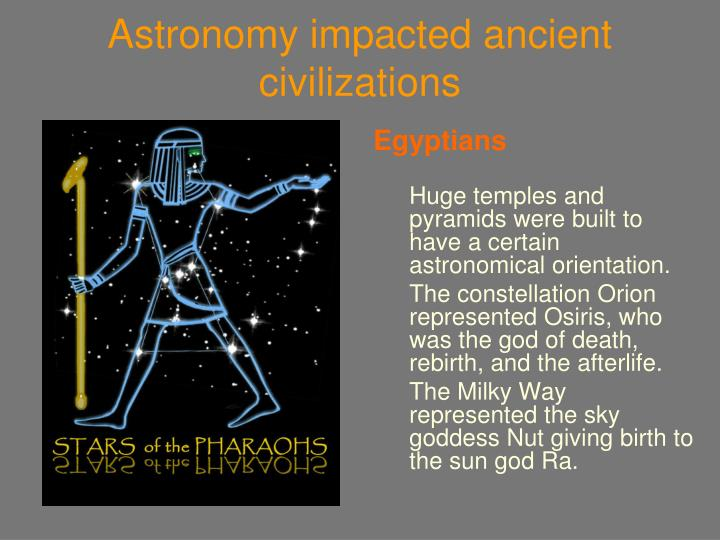 Astronomy impacted ancient civilizations1