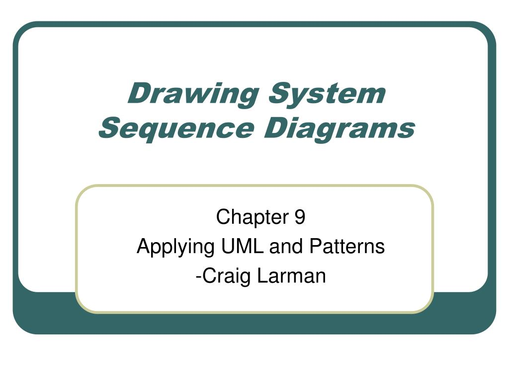 Ppt system sequence diagram powerpoint presentation, free.