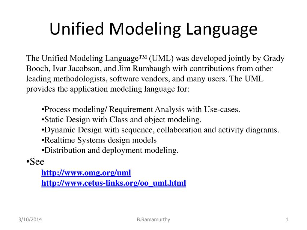 unified modeling language l.