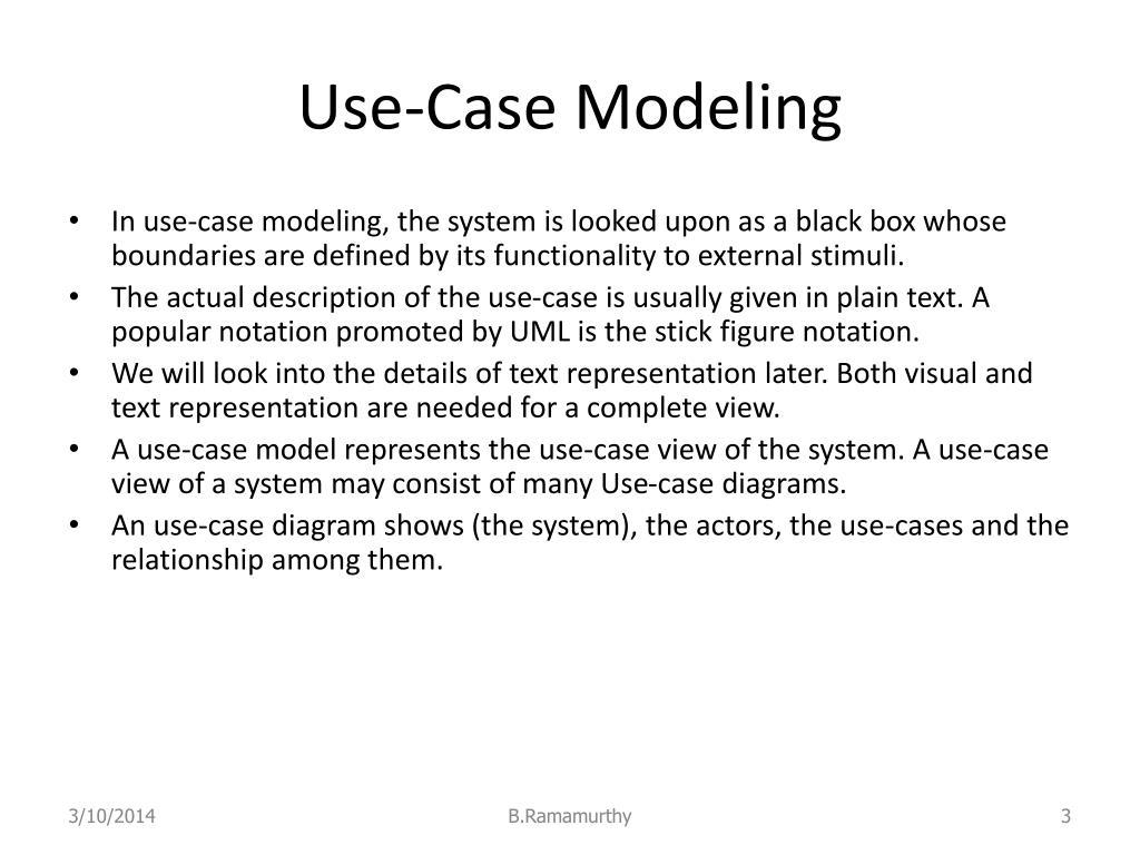 Use-Case Modeling