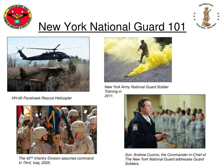 new york national guard 101 n.