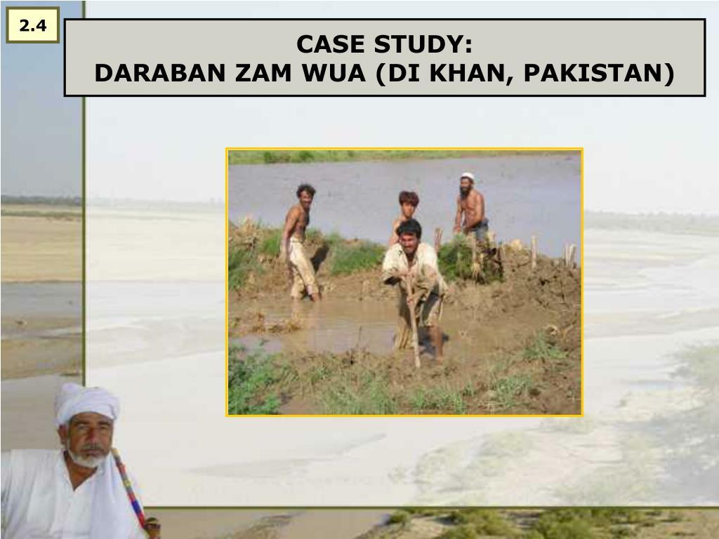 case study daraban zam wua di khan pakistan l.
