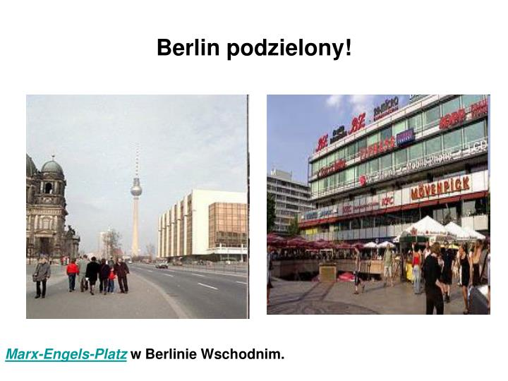Berlin podzielony!