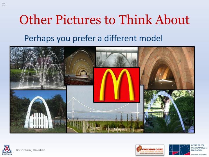 Perhaps you prefer a different model