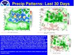 precip patterns last 30 days