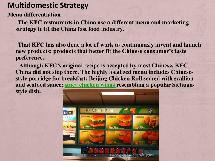 multidomestic strategy Multi domestic strategy focuses on maximizing company's effectiveness and efficiency in exploiting economies of scale, experience and skill in marketing, production and logistics.