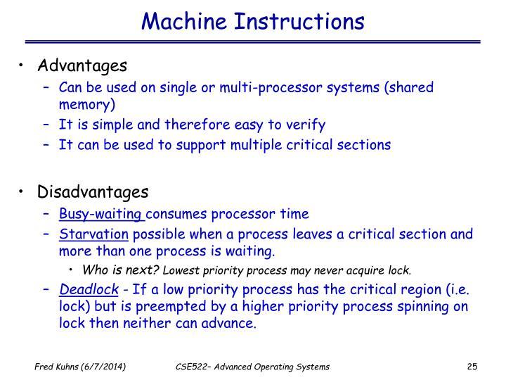 Machine Instructions