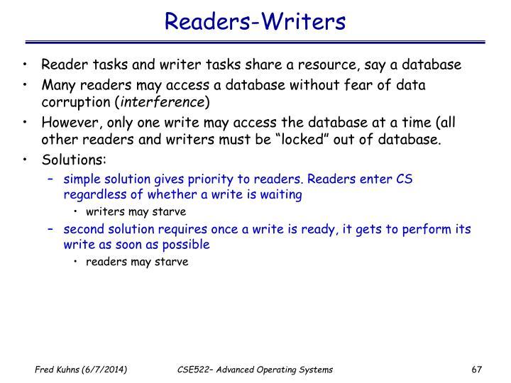 Readers-Writers