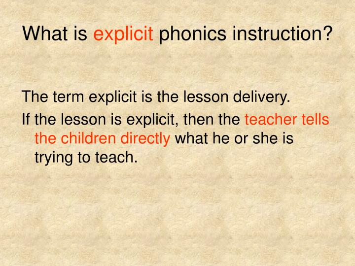Ppt Phonics Instruction Powerpoint Presentation Id1406241