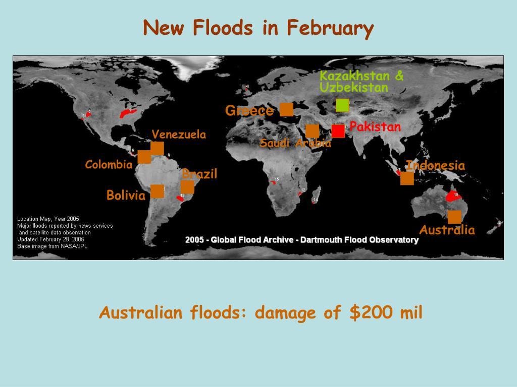 New Floods in February