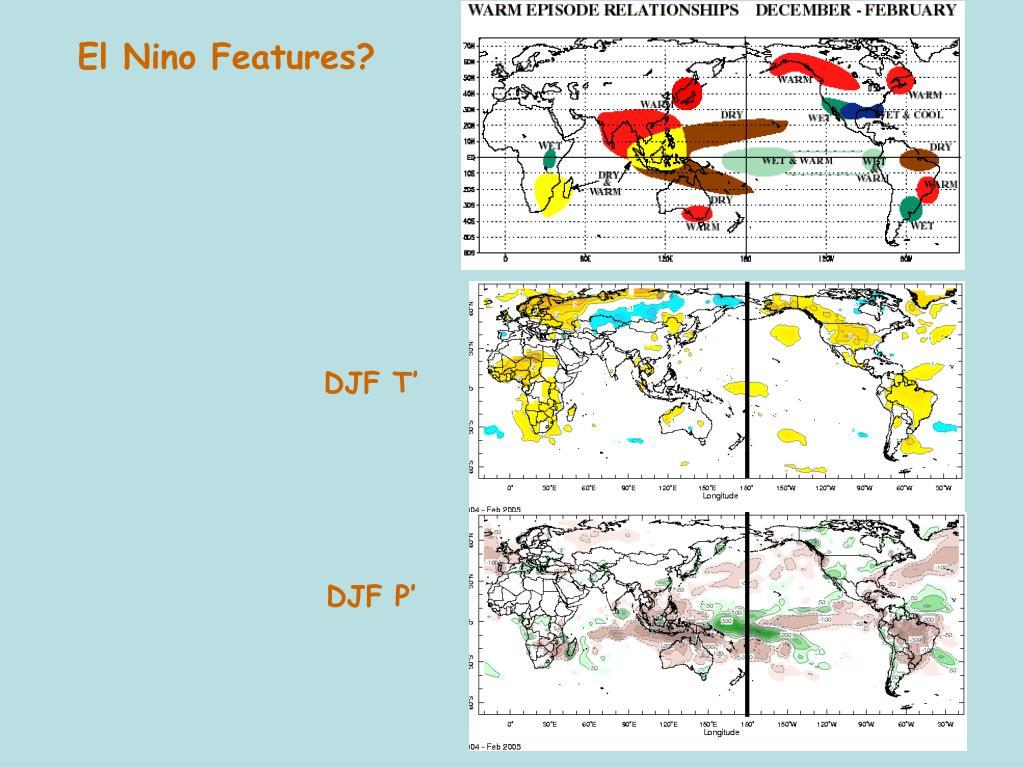 El Nino Features?