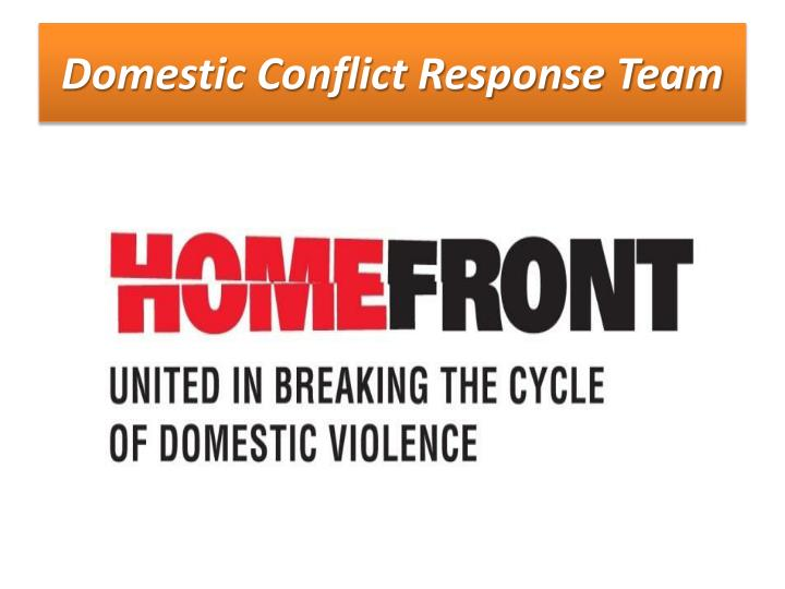 Domestic Conflict Response Team