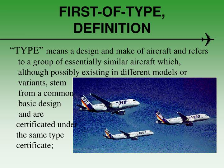 FIRST-OF-TYPE,   DEFINITION