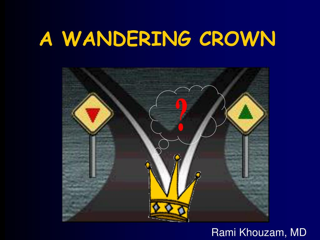 a wandering crown l.