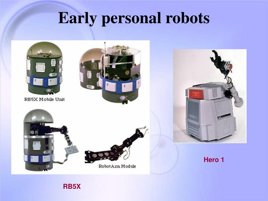 Early personal robots