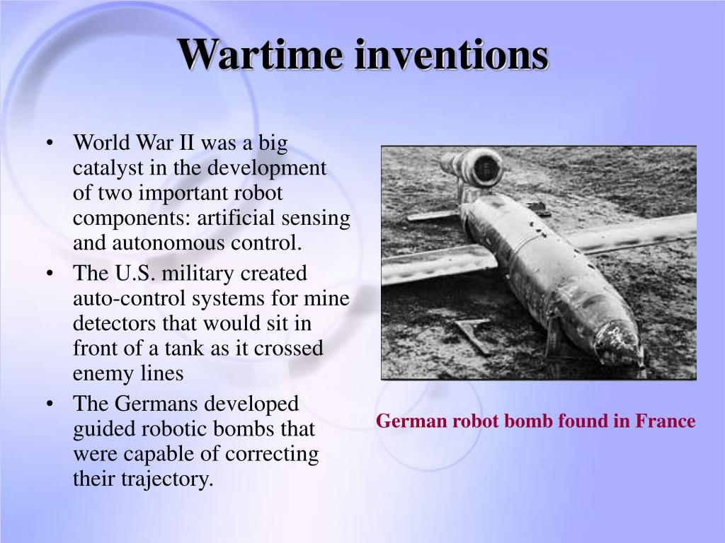 Wartime inventions