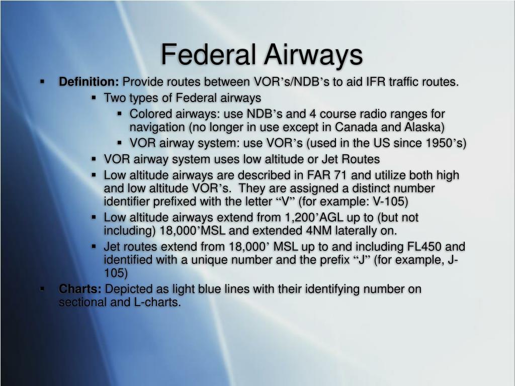 Federal Airways