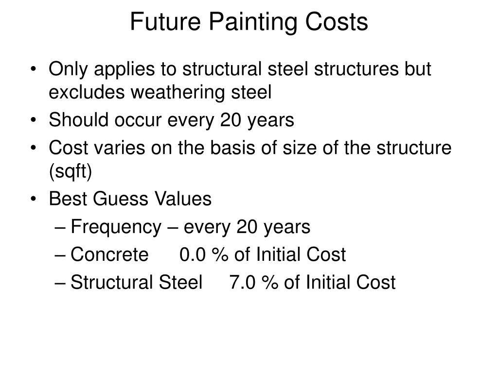 Future Painting Costs