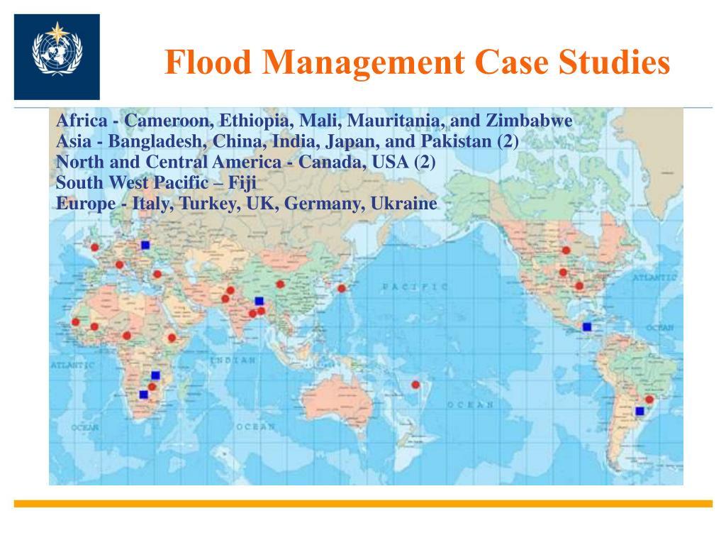Flood Management Case Studies