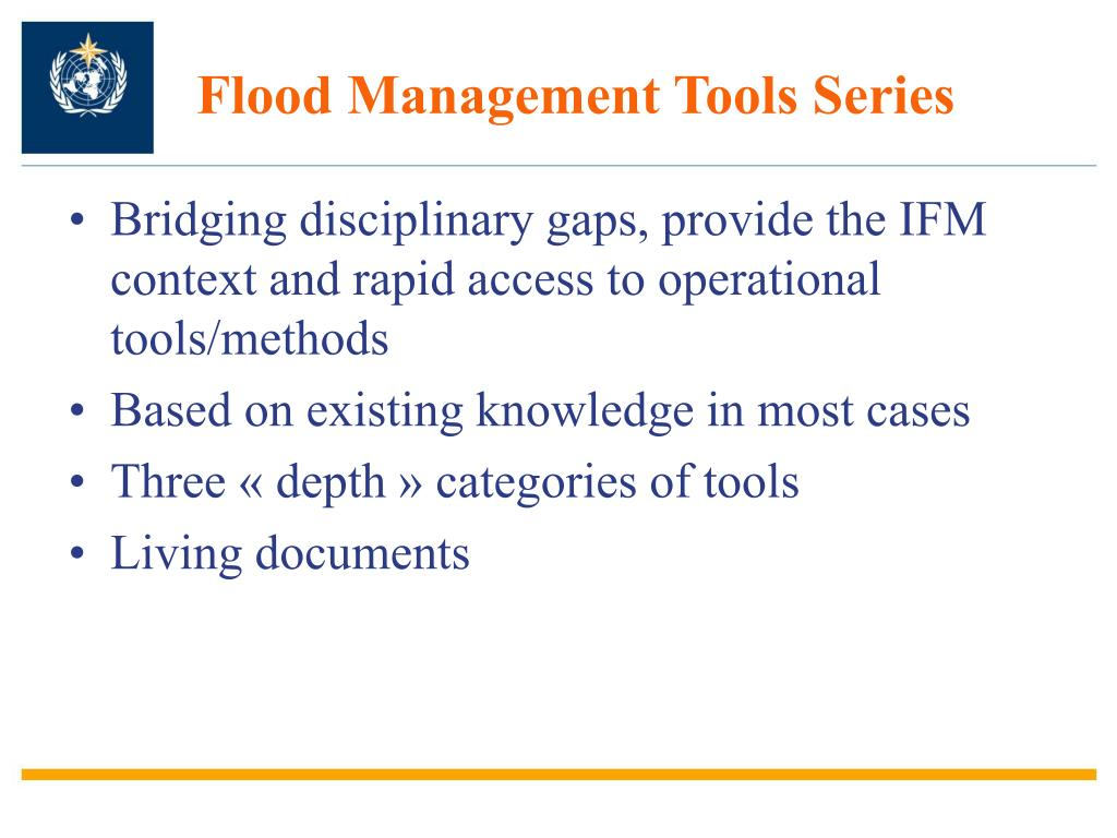 Flood Management Tools Series
