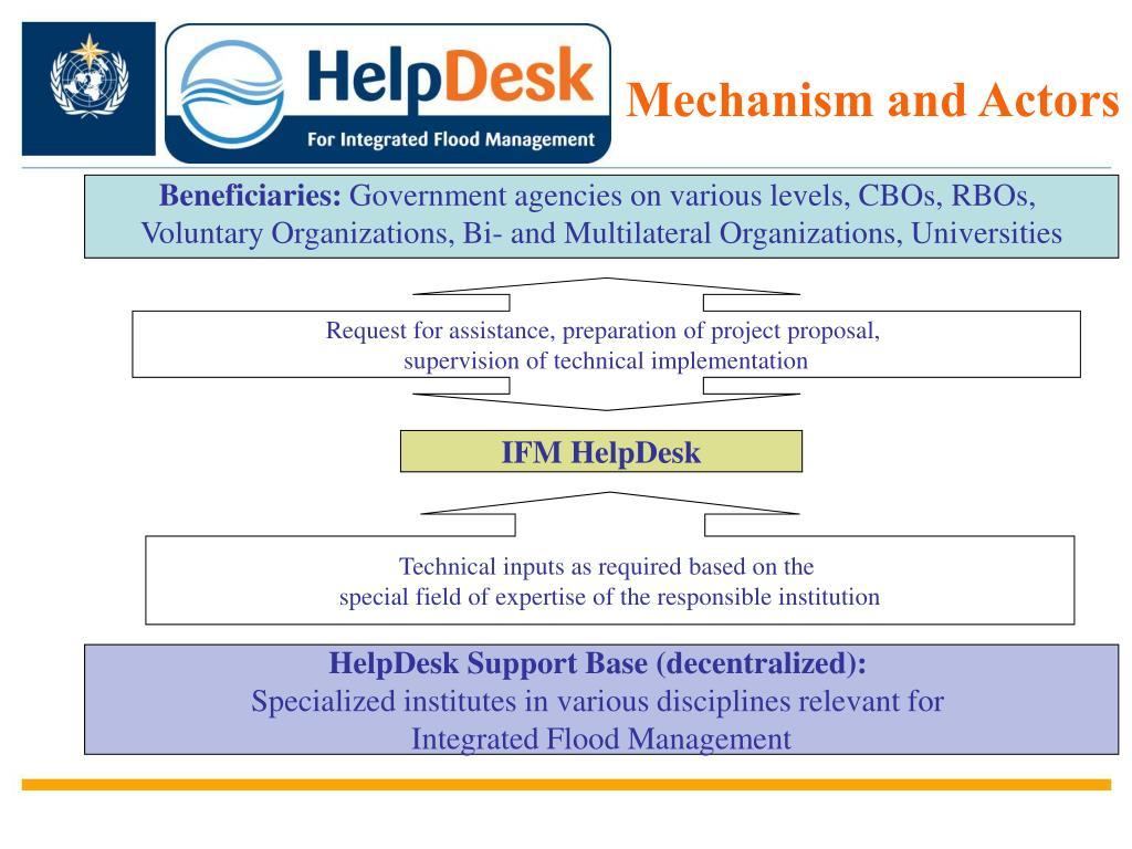Beneficiaries: