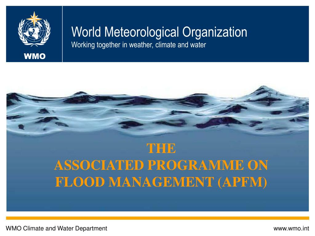 world meteorological organization working together in weather climate and water l.