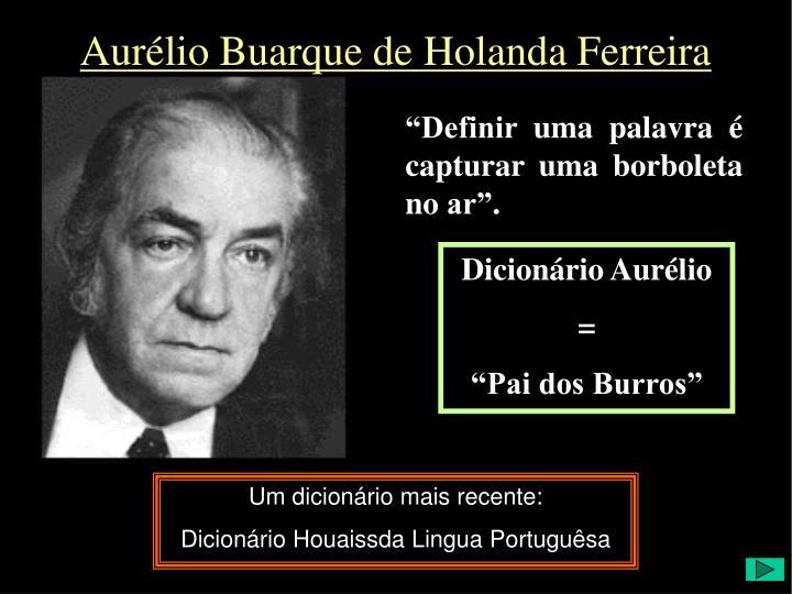 Aurélio Buarque de Holanda Ferreira