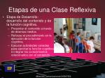 etapas de una clase reflexiva1