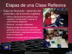 etapas de una clase reflexiva2
