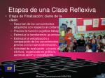 etapas de una clase reflexiva3