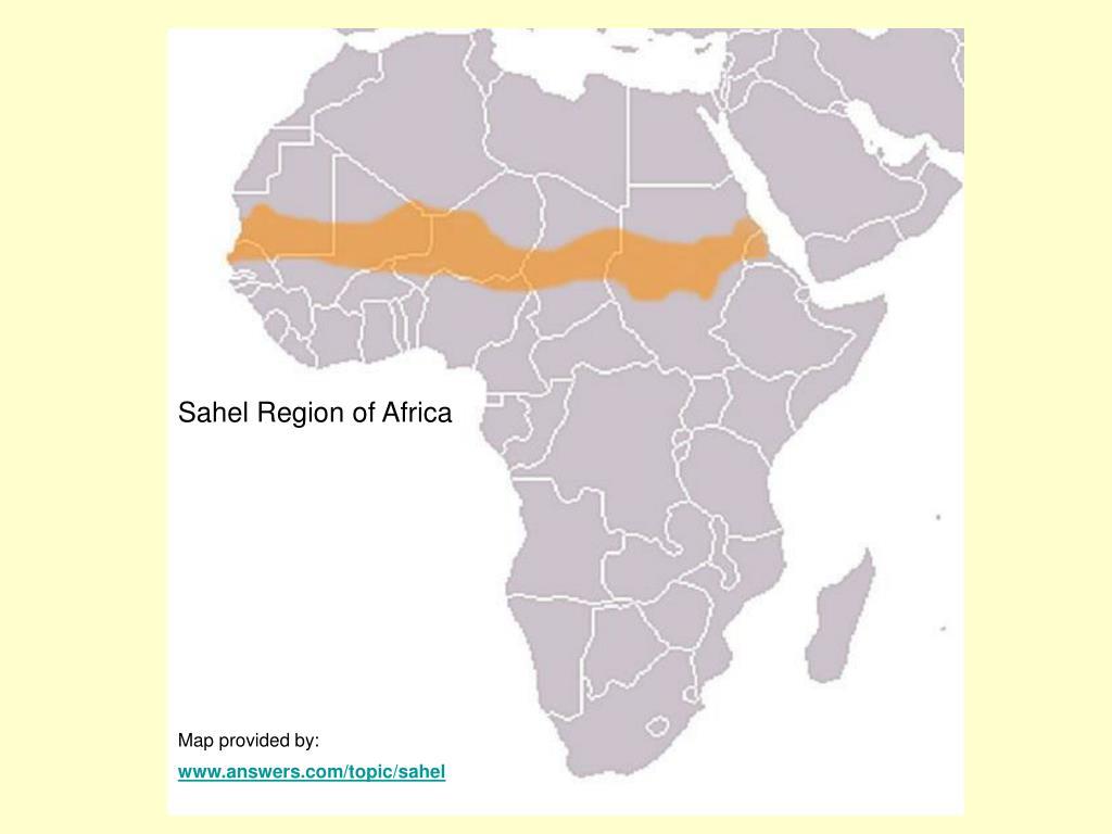 Sahel Region of Africa