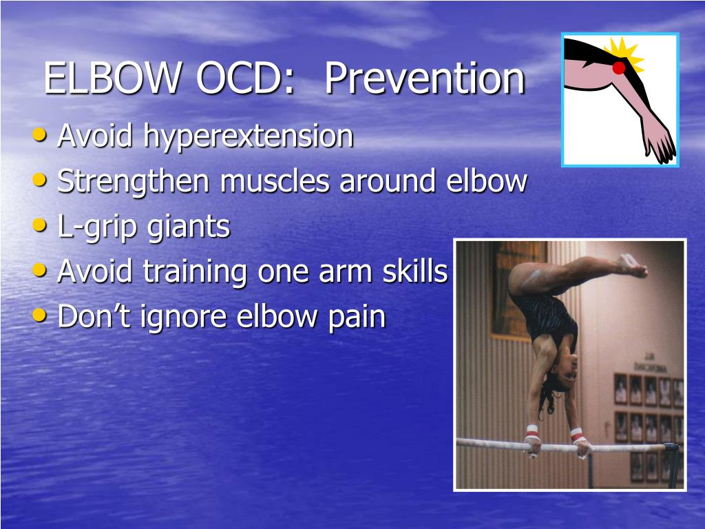 ELBOW OCD:  Prevention