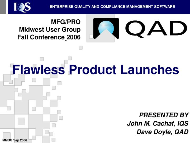 flawless product launches n.